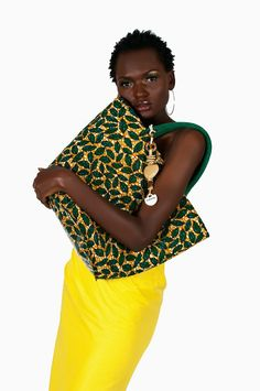 Afrocentric bags , African print shoes ,