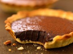 Découvrez la recette Tarte au chocolat fondant sur cuisineactuelle.fr.