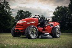 Honda Mean Mower 187.6㎞(世界最高速)を出した芝刈機