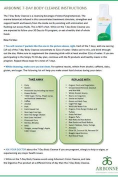 Arbonne 7 Day Cleanse ~ ask me how or www.arbonne.ca Arbonne Consultant id#115602298