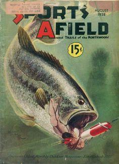 Magazine Back Issues Fishing Magazines, Old Magazines, Fishing Outfits, Fishing Shirts, Trout Fishing, Bass Fishing, Magazine Art, Magazine Covers, Vintage Fishing Lures