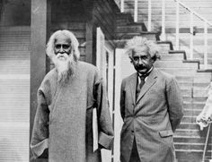 "journalofanobody: "" Rabindranath Tagore and Albert Einstein ""When I go from hence, let this be my parting word, that what I have seen is unsurpassable."" ― Rabindranath Tagore ""Do not grow old, no. Rabindranath Tagore, Rare Pictures, Rare Photos, Rare Images, Iconic Photos, Charles Darwin, Calcutta, Nobel Prize In Literature, Theory Of Relativity"