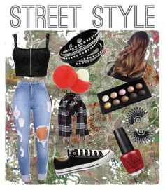 """Corien street"" by moniquerossouw on Polyvore featuring York Wallcoverings, Pilot, Converse, Humble Chic, Eos, OPI, women's clothing, women, female and woman"