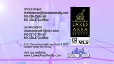 """Chris Hansen Group of Lakes Area Realty ... As Featured on """"Around Town"""" TV"""