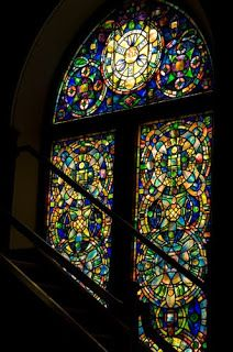 Frank Thompson's Kansas Journeys: 10 Tiffany stained glass windows, First Presbyterian Church, Topeka