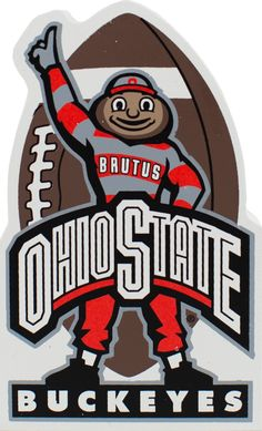 OH - IO! Buckeye Nation, here's your chance to show your BUCKEYE pride from Ohio Small Biz's and Support Local! Bookmark this collection as we add more awesome OHIO made products! Buckeyes Football, Ohio State Football, Ohio State Buckeyes, College Football, American Football, Buckeye Sports, Ohio State Logo, Ohio State University, Ohio State Crafts