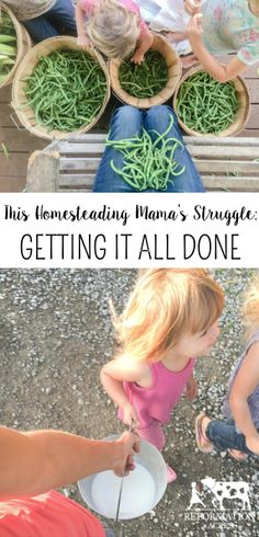 This Homesteading Mama's Struggle: Getting it All Done