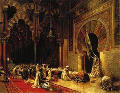 """Edwin Weeks. """"Interior de la Mezquita de Córdoba"""". 1889 Las aventuras viajeras de Edwin Lord Weeks (1849 – 1903) http://eldibujante.com/?p=9380  PINTURA Y PAGNA. DIVINA."""