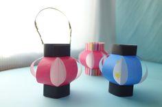 コロンと丸くてかわいい❤︎折り紙「ちょうちん」の作り方 | 季節の工作アイデア集- こうさくポケット