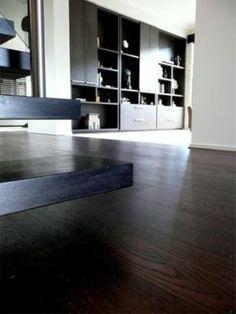 """Engineered Oak Flooring """"Ebony"""" - distributed by Ecologic Group"""