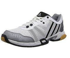 adidas Performance Women's Volley Team 2 W Volleyball Shoe, White/Grey/Black, 9 M US - Brought to you by Avarsha.com