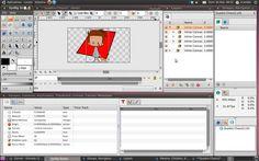Synfig Studio es un software libre y de código abierto para la creación de animaciones 2D. Disponible para los sistemas operativos Windows, Linux y Mac.