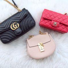 Gucci, Chanel, + Chloé