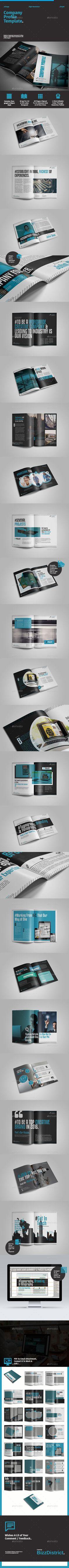 Company Profile Brandbook Template #design Download: http://graphicriver.net/item/company-profile-template/11405889?ref=ksioks