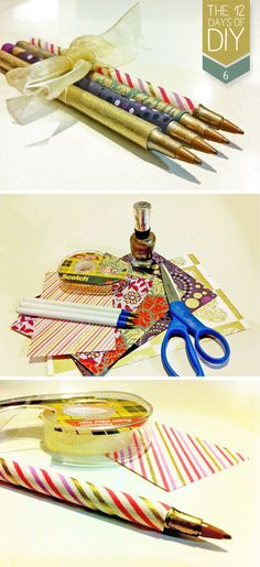 Transform any ballpoint pen into a cute decorative gift or a way to brighten up your desk!