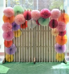 Photobooth Backdrop Diy Wedding Pom Poms - Fresh Photobooth Backdrop Diy Wedding Pom Poms, This is Nice but In More Subtle Colours and Ruched Cream Fabric Diy Photo Backdrop, Backdrop Design, Photo Backdrops, Paper Backdrop, Flower Backdrop, Photography Backdrops, Decor Photobooth, Polaroid Photo Booths, Polaroid Photos