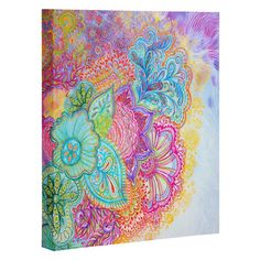 Stephanie Corfee Flourish Art Canvas | DENY Designs Home Accessories