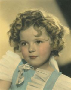 Shirley Temple: I grew up as a little girl watching every Shirley film that we had. Watching this little girl was a big part of my upbringing, and is in my happiest memories as a child.