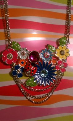 Spring Bouquet Necklace FREE SHIPPING $22.00