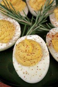Fiou Gras Deviled Eggs