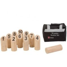 Wooden Scatter Set is an addictive tactical game suitable for all ages where players use their skill and judgement to knock over the ten numbered wooden pins. Shop for party games today. Throwing Games, Giant Chess, Giant Snake, Garden Games, Ring Toss, Play Equipment, Lawn Games, Ride On Toys, Bag Storage