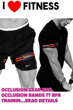 Occlusion Gear PRO. Occlusion Bands ?? BFR Training Bands ?? Blood Flow Restriction Bands Arms and Legs ?? BFR Straps ?? Easy Tightening Method ?? Different Sizes ?? Used by Pro Athletes ?? Free BFR E-Book (This is an affiliate pin) Exercise Bands, Athletes, Flow, Gym Shorts Womens, Arms, Training, Fitness, Easy, Books