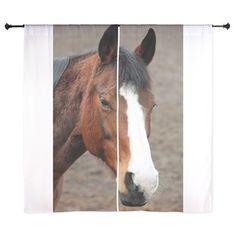 Wonderful Horse Animal Curtains on CafePress.com