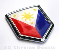 Filippine Vatican City Flag, Flag Vector, Have Metal, Clear Resin, Bumper Stickers, 3d Design, Decals, Chrome, Car
