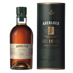 Aberlour 16 Year Double Cask Matured Single Malt Scotch; Many have said that Aberlour is a whisky for beginners | spiritedgifts.com