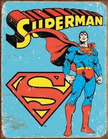 Vintage Wonder Women Super Hero Tin Sign by JudysEtsyStore