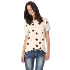 Pink T-Shirt with stars print
