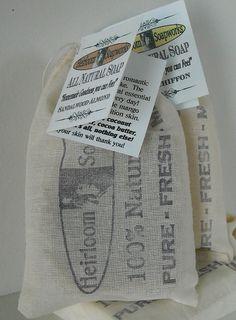 2011 Heirloom Soap packaging
