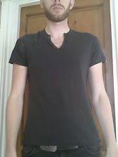 Men's Medium Black T-shirt - River Island
