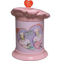 Love Lucy Cake Cookie Jar i