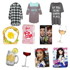"""""""Sleepover with girlies"""" by bossforever on Polyvore featuring DKNY, Boohoo, Marc Blackwell and iittala"""