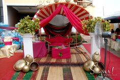 Nigerian Traditional Wedding, Traditional Wedding Decor, Safari Decorations, Wedding Decorations, Table Decorations, Wedding Ideas, Igbo Bride, Wedding Stage, Party Themes