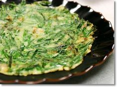 Leek Recipes, Asian Recipes, Asian Foods, Korean Dishes, Korean Food, Korean Pancake, Onion Leeks, A Food, Delish