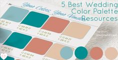 wedding color palette resources