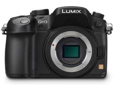 Used Panasonic Lumix DMC-GH3 Mirrorless Camera