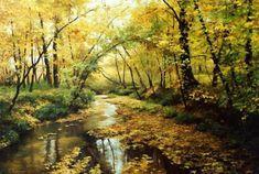 Realistic Landscape Paintings By Kirichenko Gennadiy
