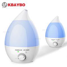 안개 가습기, Bengoo 초음파 가습기 아로마 오일 디퓨저 홈 침실 사무실 Babyroom (1.3L)