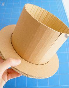 como hacer sombrero para disfraz de mago