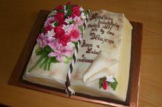 cake book dort kniha