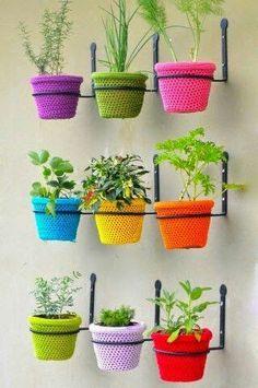 Chrocet pot covers