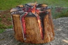 Amazing All-Night Campfire: How To Make A Swedish Torch - Hermia Lummasana Survival Prepping, Survival Skills, Bbq Pitmasters, Smoker Cooking, Hiking Tips, Hiking Gear, Edible Arrangements, Great Hobbies, Fruit Art