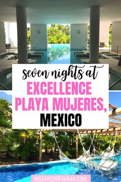 Treat yourself to pure luxury as soon as you step foot inside Excellence Playa Mujeres! | Excellence Playa Mujeres Tips | Excellence Playa Mujeres Wedding | Mexico Honeymoon | Mexico Anniversary | Playa Mujeres Mexico | excellence playa mujeres food | excellence playa mujeres drinks | excellence playa mujeres rooms | excellence playa mujeres review | excellence playa mujeres restaurants | excellence playa mujeres cancun | honeymoon destinations | honeymoon ideas | all inclusive resort | Mexico, Words To Describe, Honeymoon Destinations, Adults Only, Heaven On Earth, Cancun, Cool Words, Drinking, Restaurants