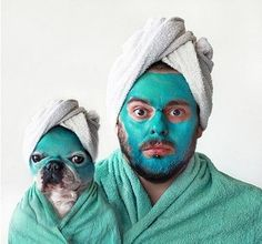 Spa day. Can't stop laughing...      https://www.facebook.com/TheSpaAtCharlestonPlace?ref=hl