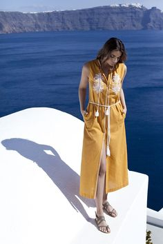 'We Create Harmony' is an online platform that promotes young and/ or up and coming designers in the fashion industry on an international level. Classy Outfits, Casual Outfits, Greek Fashion, Fashion Fashion, Greek Design, Long Shirt Dress, Beach Look, Resort Wear, Cover Up