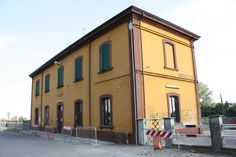 Bahnhof Brescello wo Don Camillo in die Verbannung fuhr