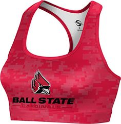 ProSphere Womens Ball State University Digital Sports Bra XXL >>> Click image for more details.